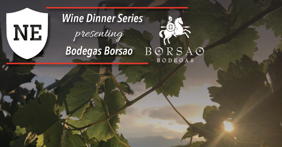 National Exemplar Wine Dinner with Bodegas Borsao on August 15, 2019