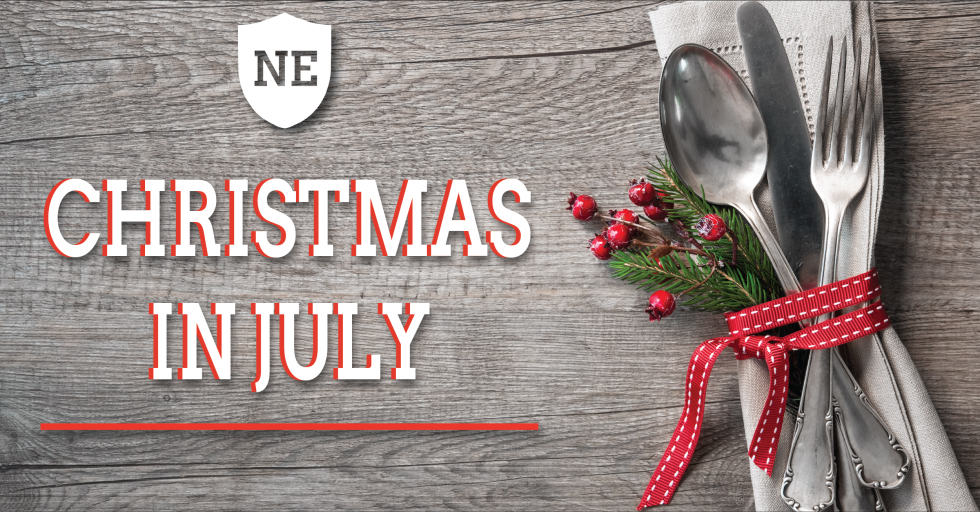 Christmas in July private dining and gift card special at The National Exemplar