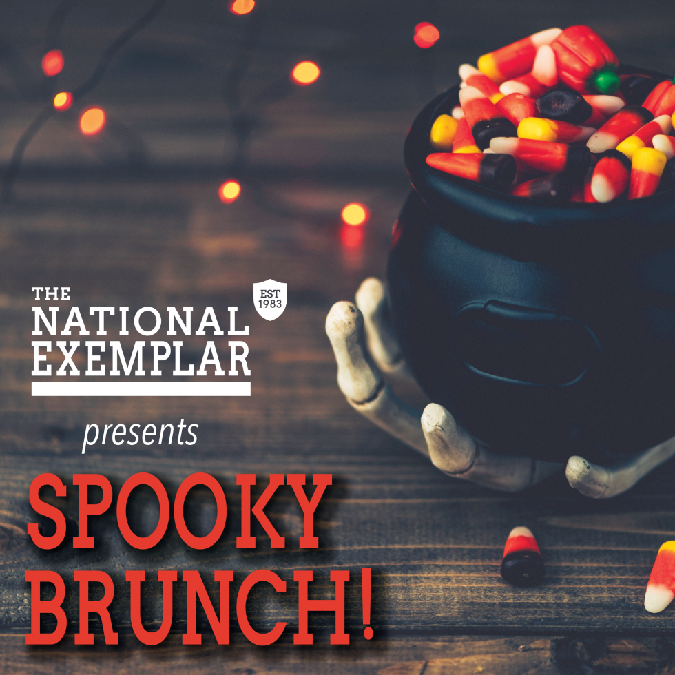 Join The National Exemplar for Spooky Brunch