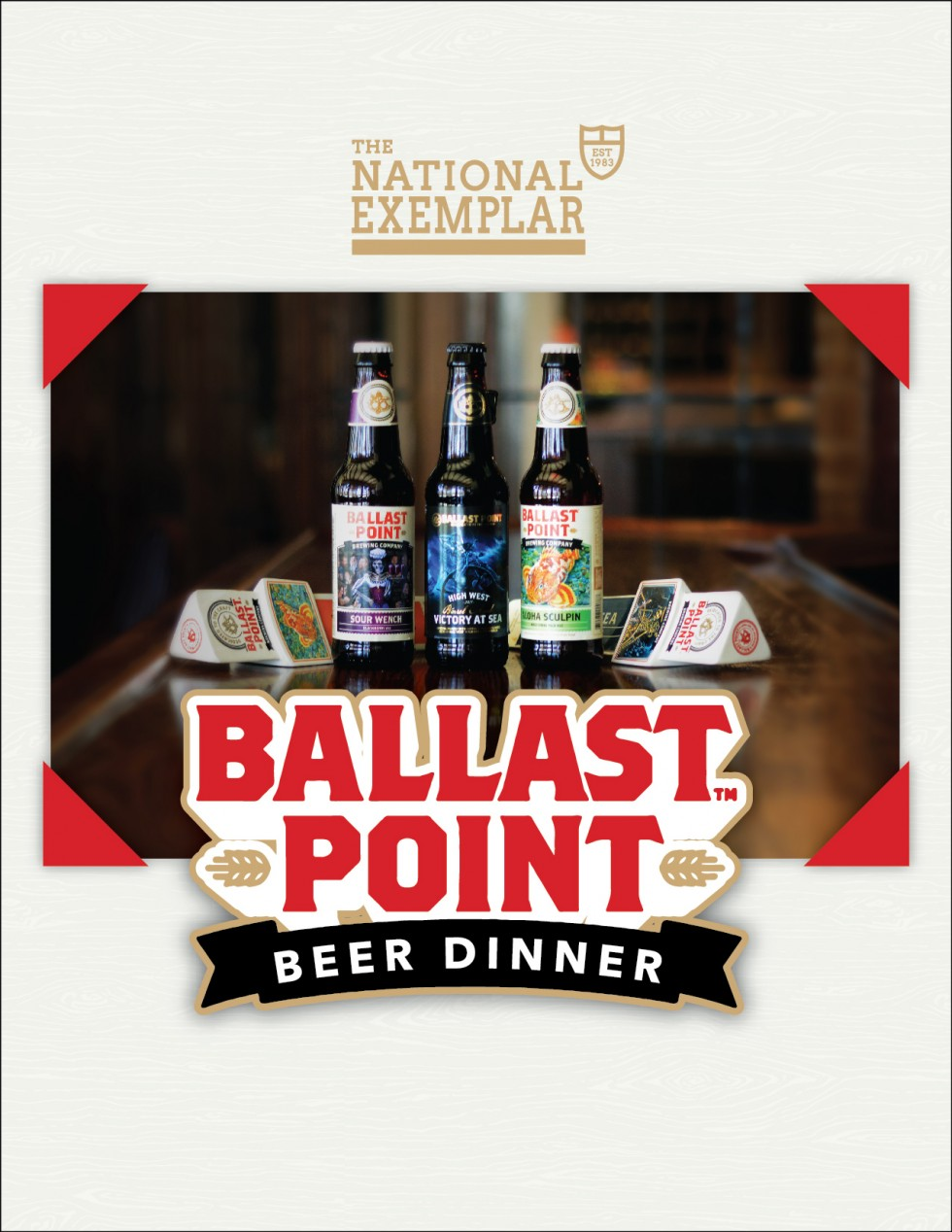 Ballast Point Beer Dinner