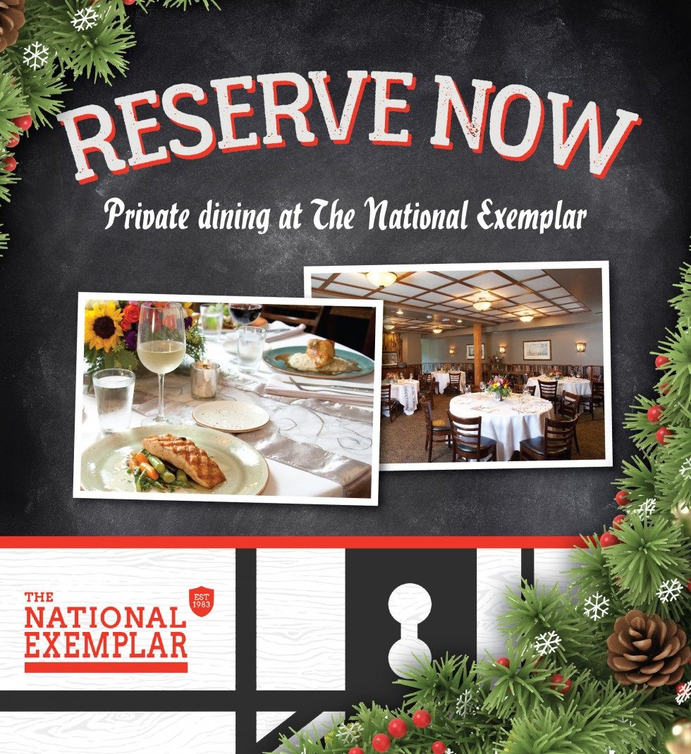 Private dining at The National Exemplar